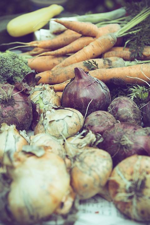 Vegetables, Market, Food, Healthy, Green, Nutrition