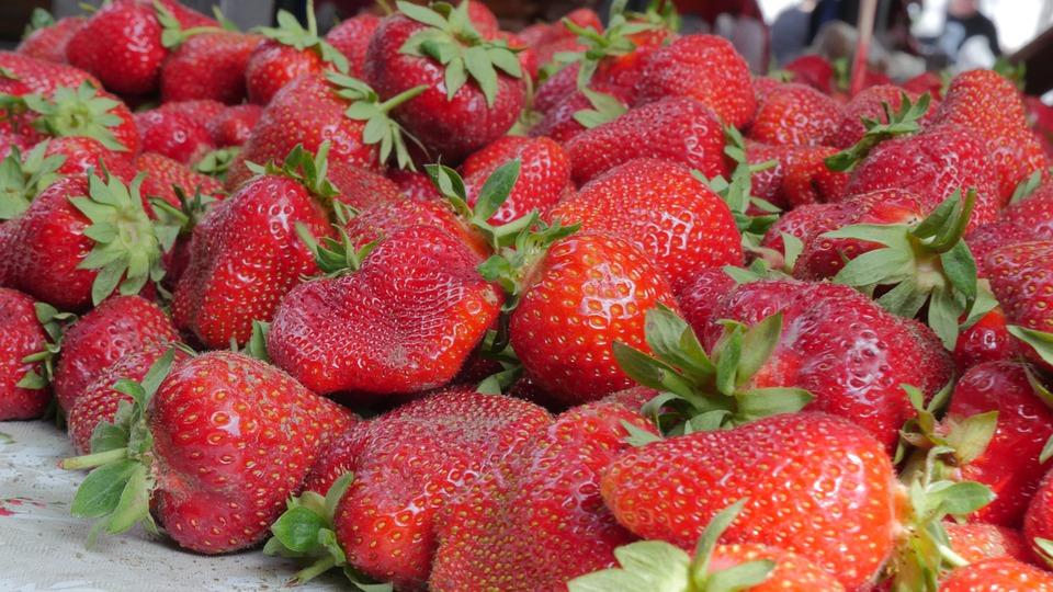 Red, Market, Marketing, City, Vegetable, Food, Street
