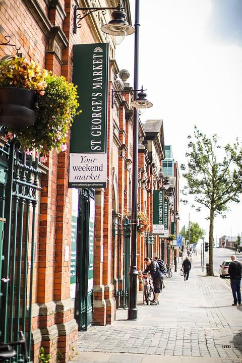 Belfast, Tourist, Market, Marketplace, Travel Guide
