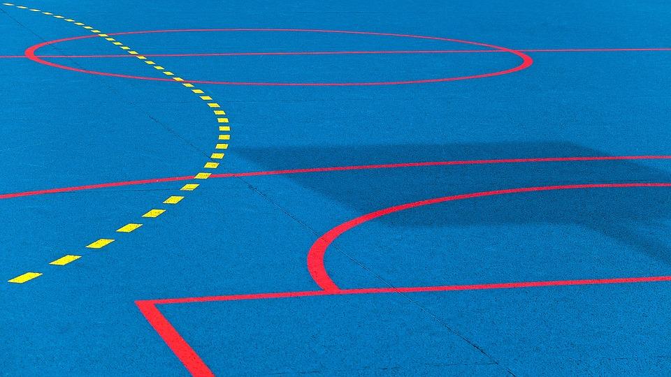 Sport, Sport Field, Hand Ball, Marking, Surface