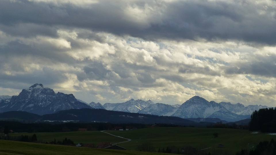 Allgäu, Foothills Of The, Panorama, Marktoberdorf