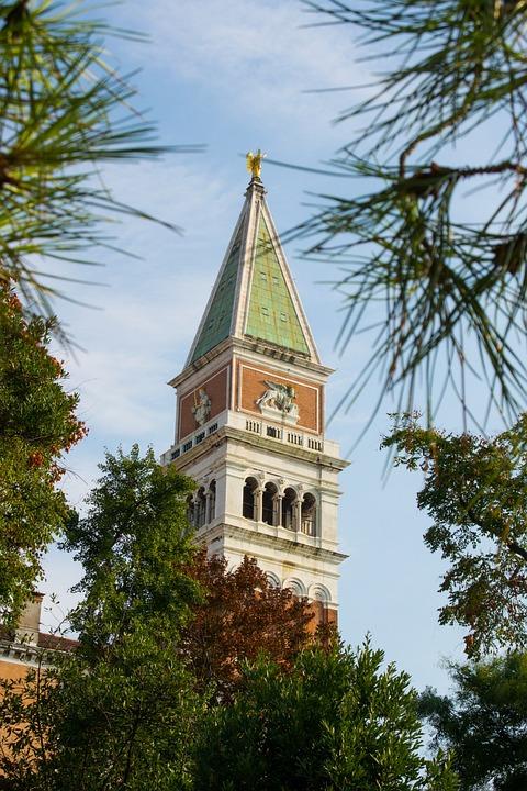 Venice, Italy, Markus Tower, City, Veneto