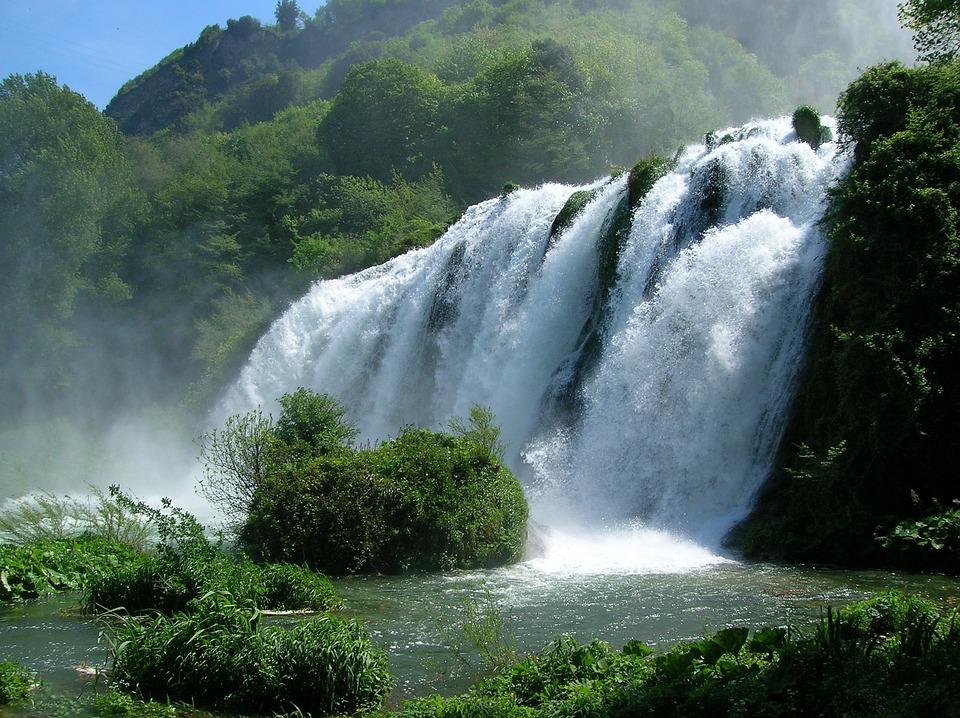 Cascata Delle Marmore, Marmore, Waterfall