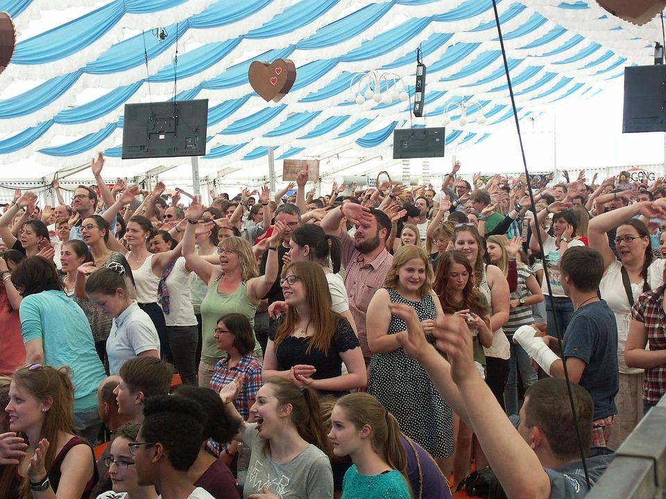 Heavens, Allgäu, Celebration, Beer Tent, Event, Marquee