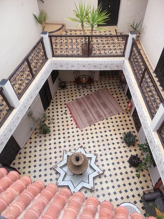 Marrakech, Casba, Riad