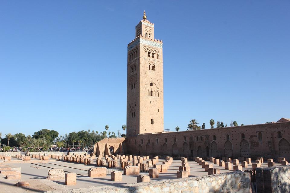 Koutobia, Marrakech, Plaza