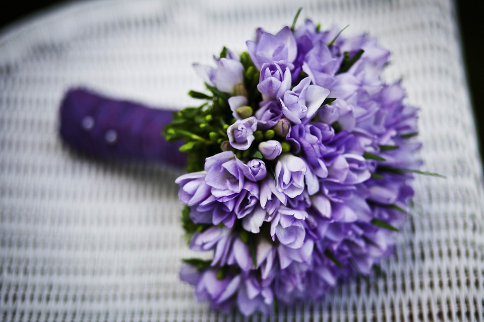 Marriage, Flower, Purple Flowers