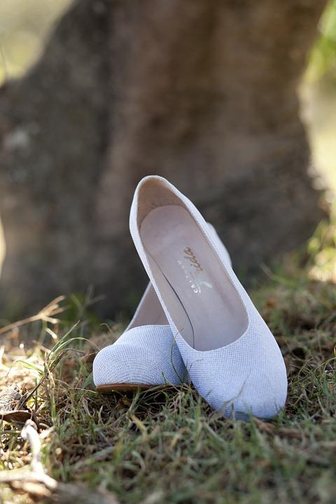 Shoes, Whites, Marriage, Wedding, White