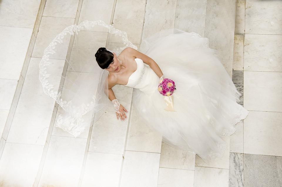 Wedding Dress, Bride, Marriage, Wedding, Marry, Wed