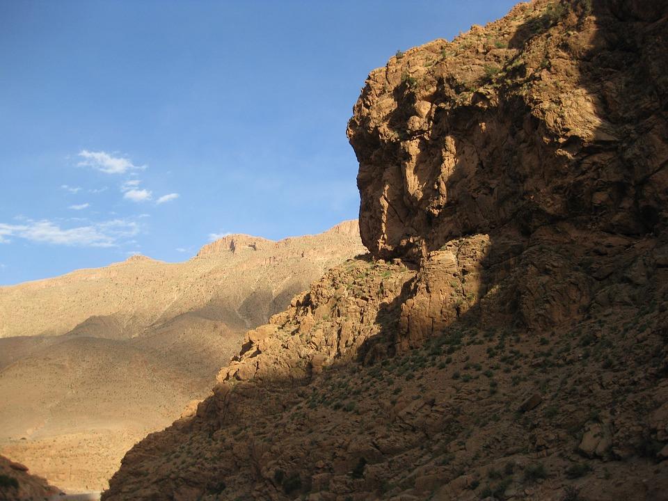 Morocco, Landscape, Marroc, Dusk, Twilight, Nature