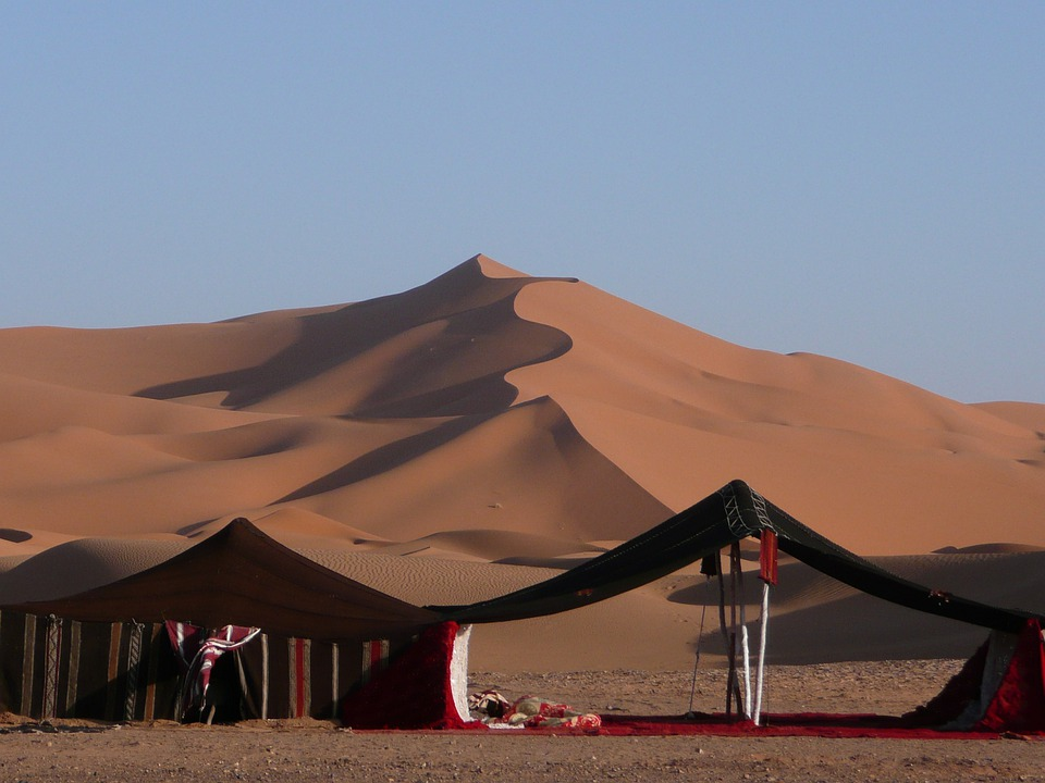 Image result for desert camp