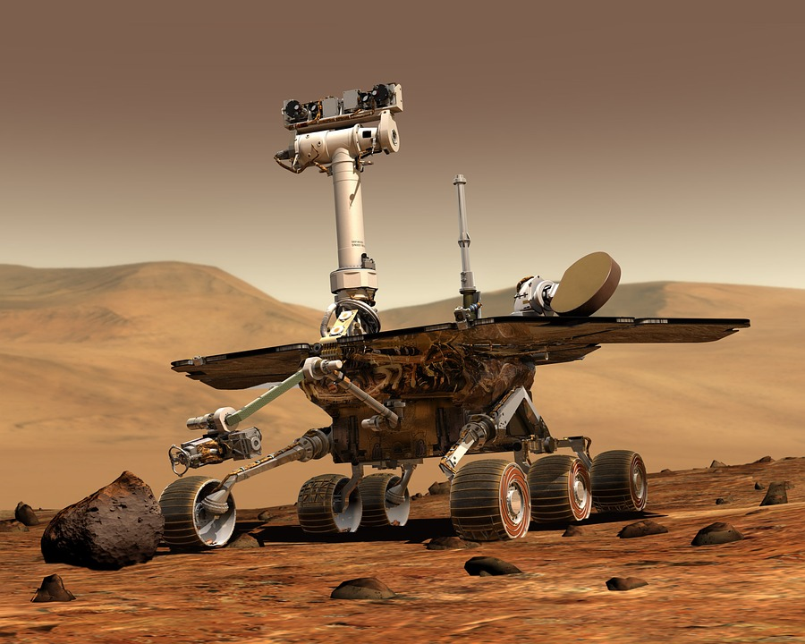 Mars, Mars Rover, Space Travel, Robot, Martian Surface