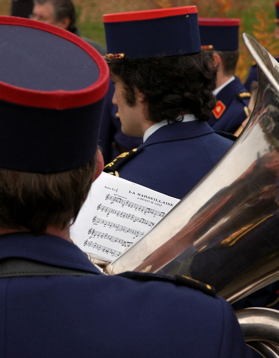Commemorate, Marseillaise, Music, Military