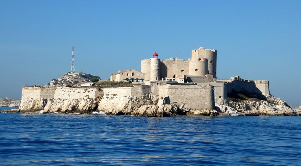 Marseille, Castle Of Yew, Bay, Fort, Dantès, Sea