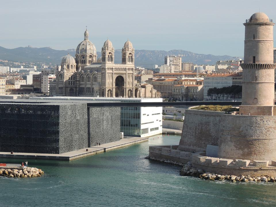 Mucem, Marseille, Sea