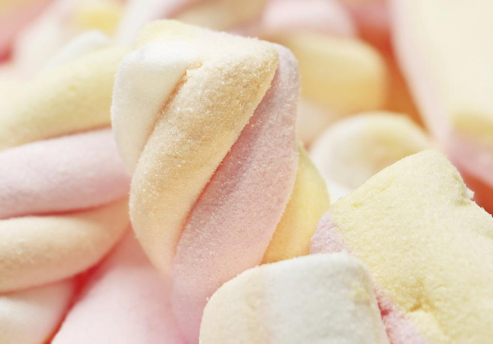 Mice Bacon, Marshmallow, Sweet, Confectionery, Food