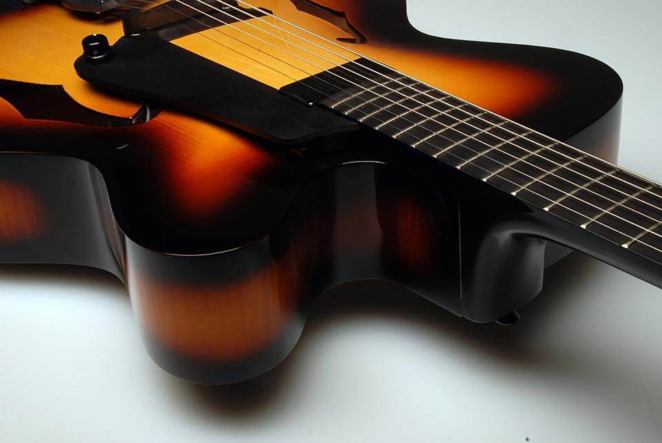 Martin Hollow Body Guitar, Electric Guitar