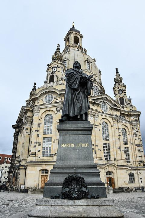 Luther, Frauenkirche, Martin Luther, Dresden, Building