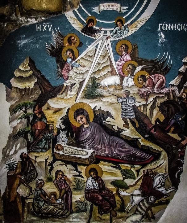 Nativity Scene, Nativity, Christmas, Jesus, Mary