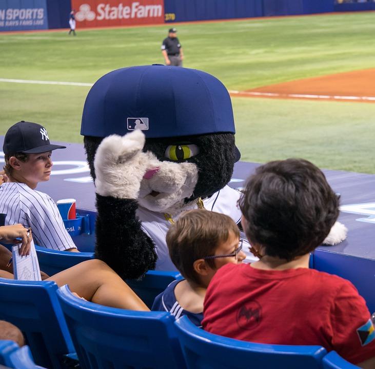 Tropicana Field, Baseball, Dj Kitty, Mascot, Florida