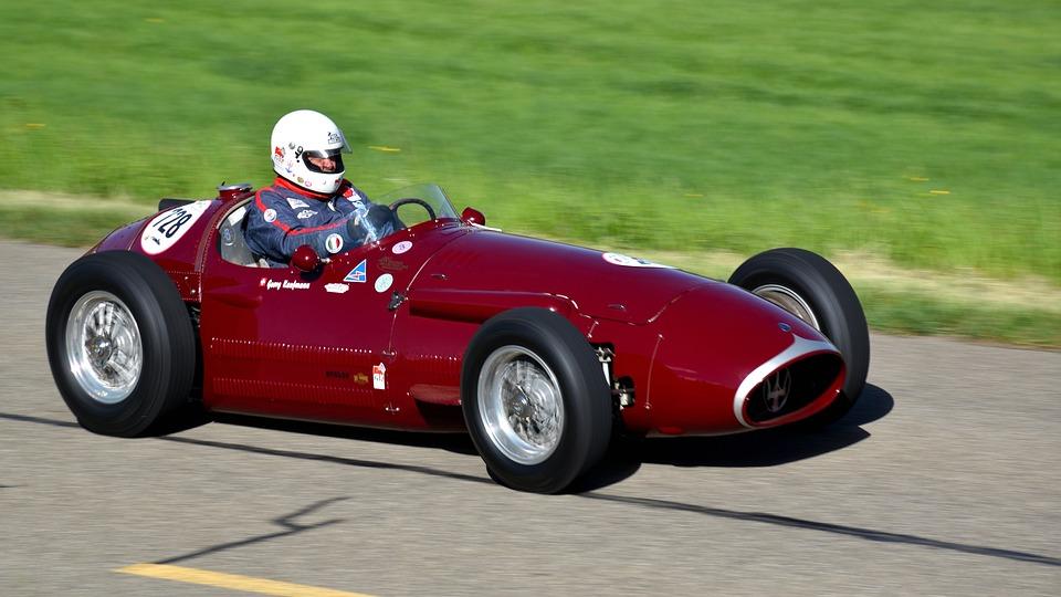 Racing Car, Hillclimb, Maserati 250-f, Oldtimer