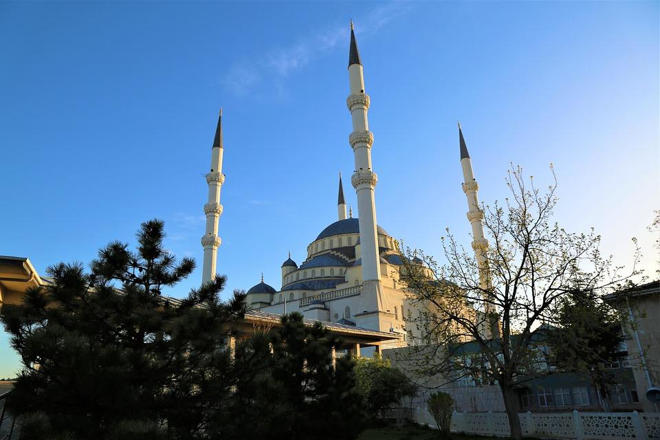 Architecture, Travel, Sky, City, Building, Masjid, Cami