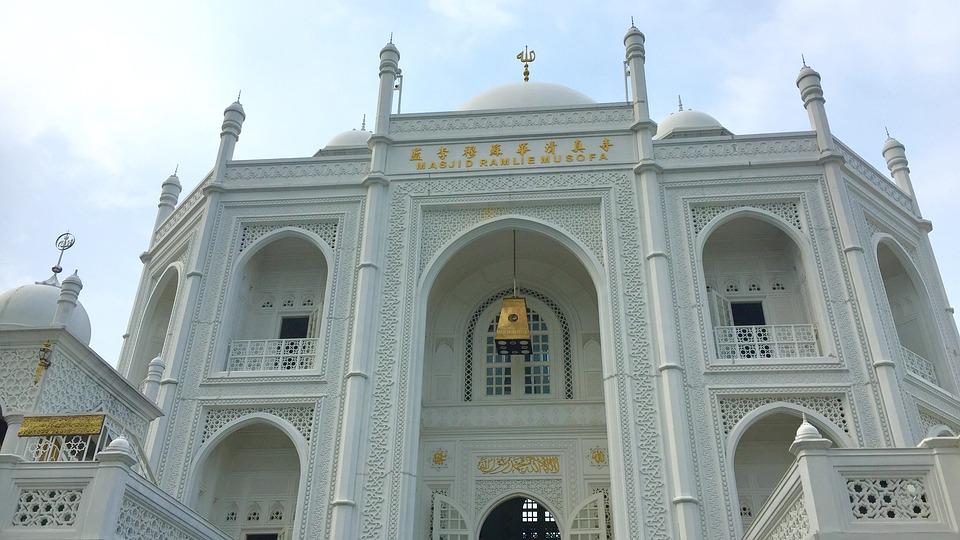 Jakarta, Mosque, City, Islam, Holy, Masjid, Islamic