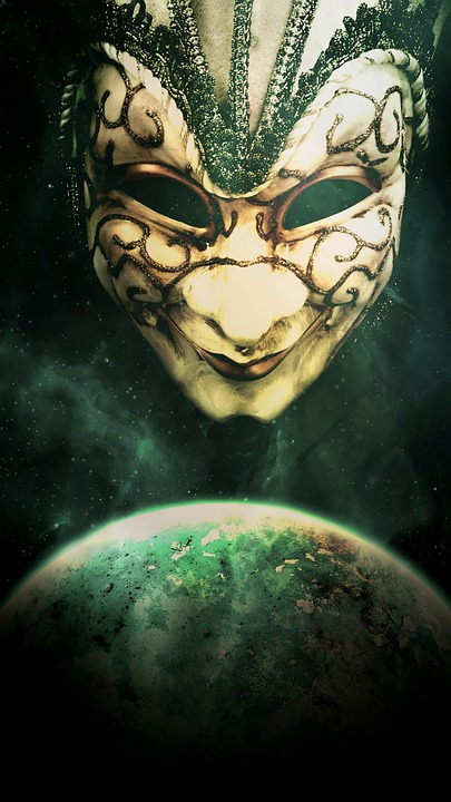 Art, Desktop Background, Book Cover, Mask, Globe