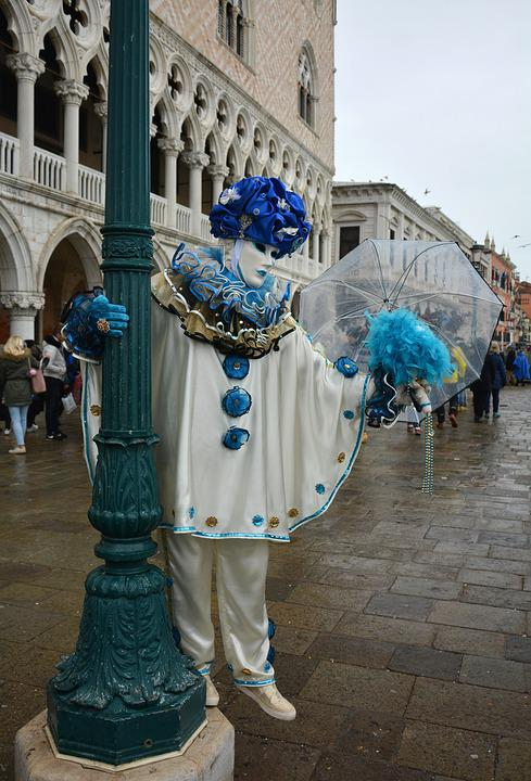 Venice, Carnival, Italy, Mask, Costume