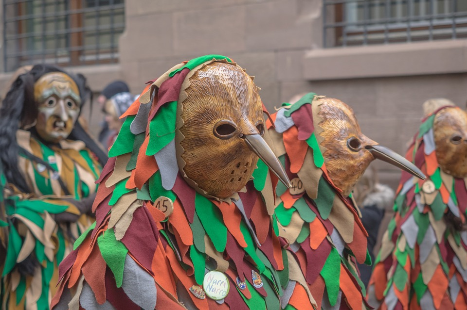 Carnival, Fasnet, Colorful, Swabian Alemannic, Mask