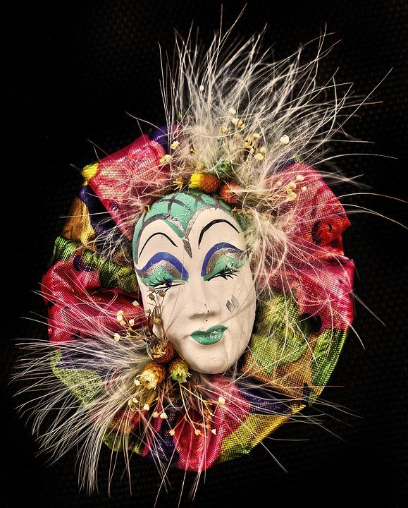 Mask, Decoration, Carnival, Venice, Masquerade, Costume