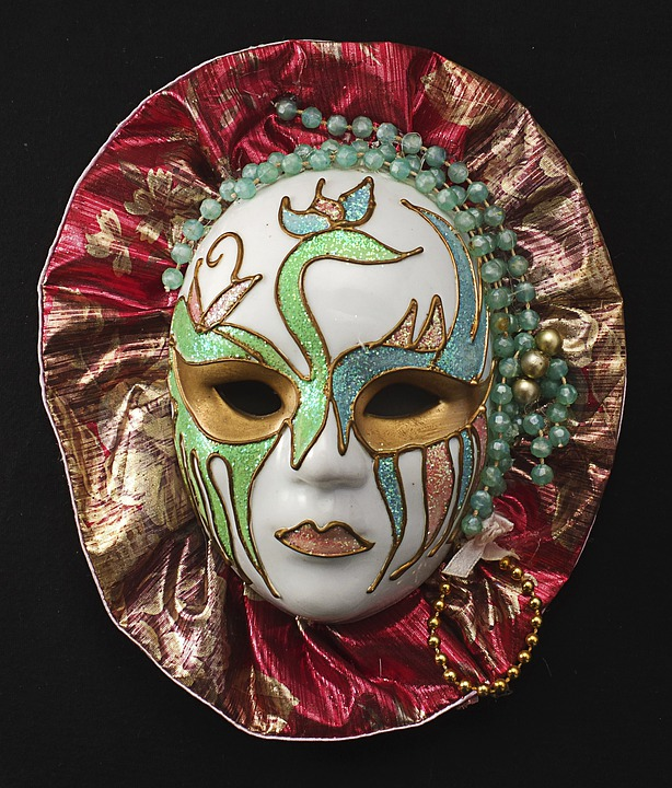 Mask, Porcelain, Female, Carnival, Hide, Cover