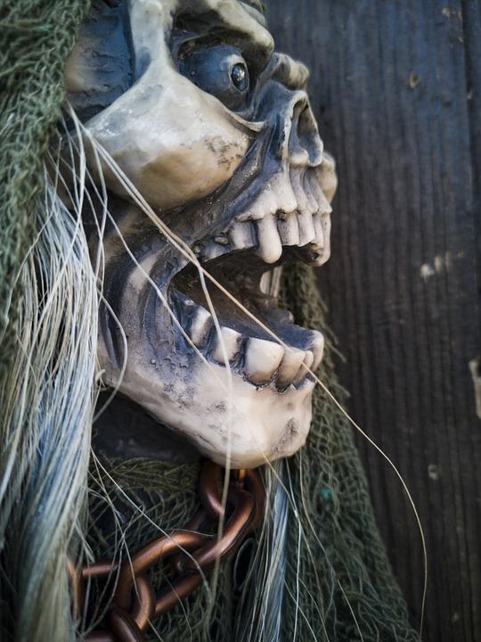 Monster, Horror, Skull, Death, Dead, Mask, Portrait