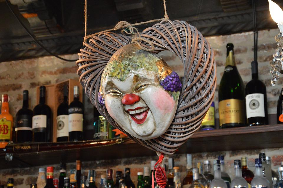 Venice, Carnival, Mask, Osteria, Mysterious, Masked