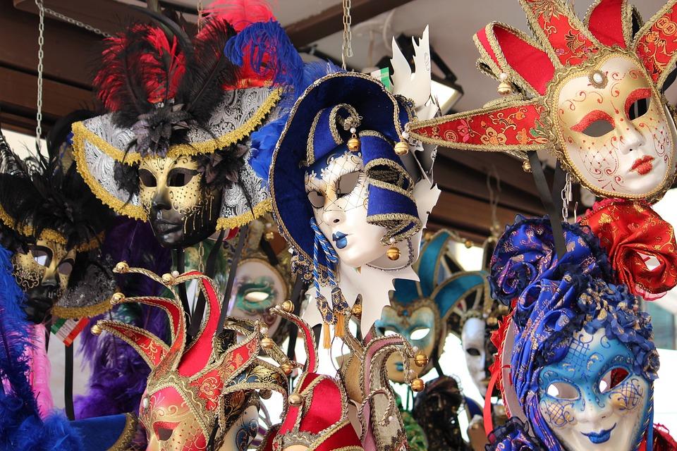 Masks, Venice, Carnival, Venetian Mask
