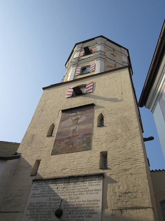 City Wall, Tower, Watchtower, Historically, Masonry