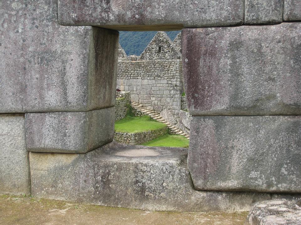 Machu Picchu, Masonry, Wall, Peru, Andes, Incas
