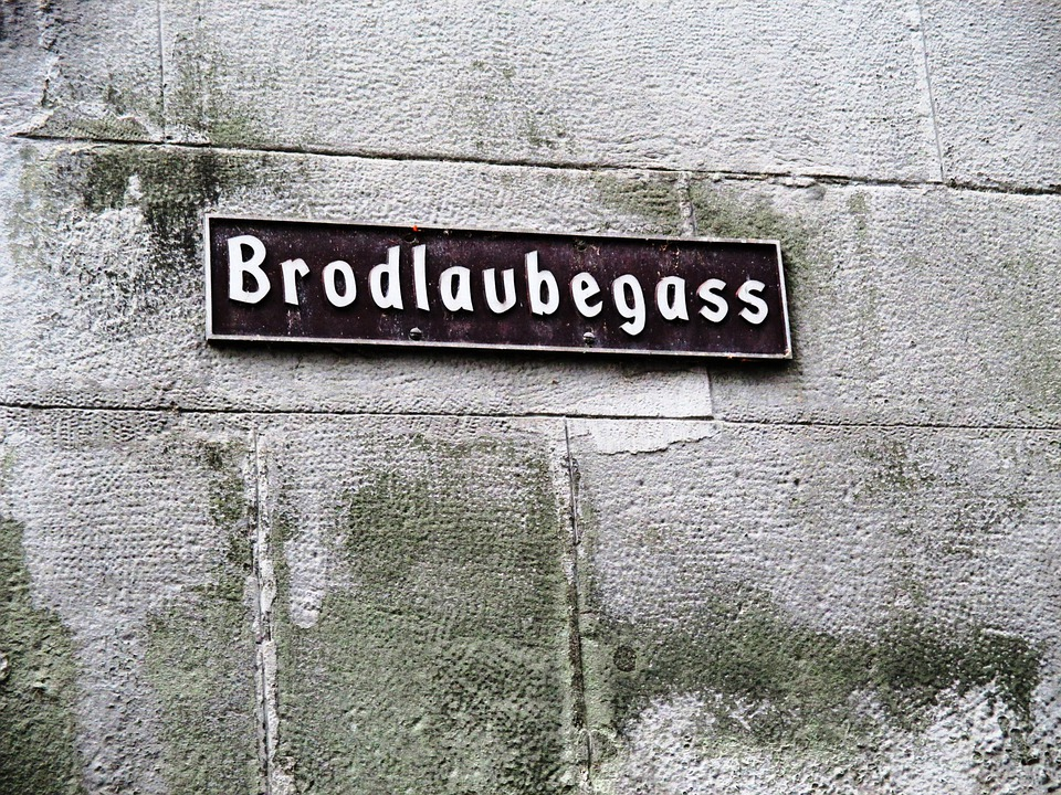 Alley, Brodlaubegass, Masonry, Sand Stone, Old Town