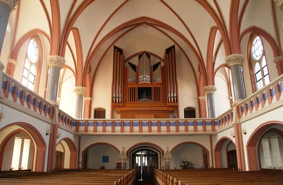 Church, Organ, Mass, Religion, Christian, Holy