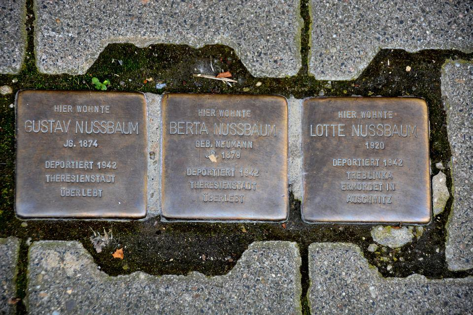Stumbling Blocks, Nazi Crimes, Jews, Mass Murders