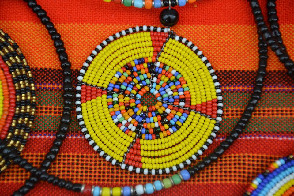 Massai, Jewellery, Africa, Tradition, Culture, Festival