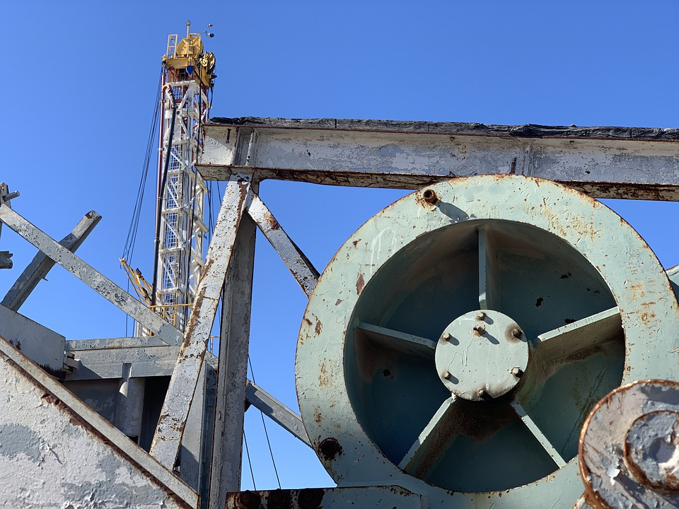 Drilling Rig, Drilling Mast, Oil Iron, Derrick, Mast