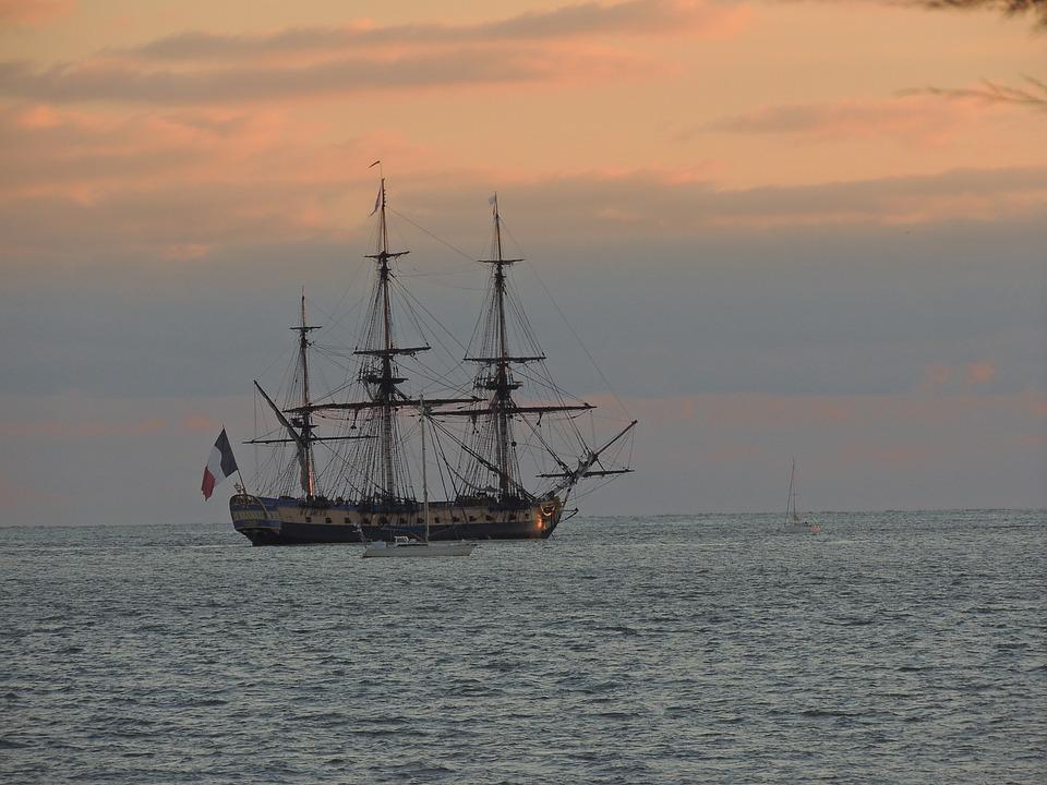 Ship, Sailboat, Boat, Nautical, Mast, Old