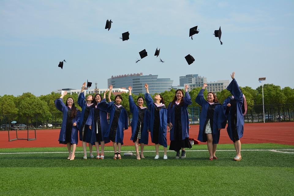 Graduation, Master's Cap, Campus