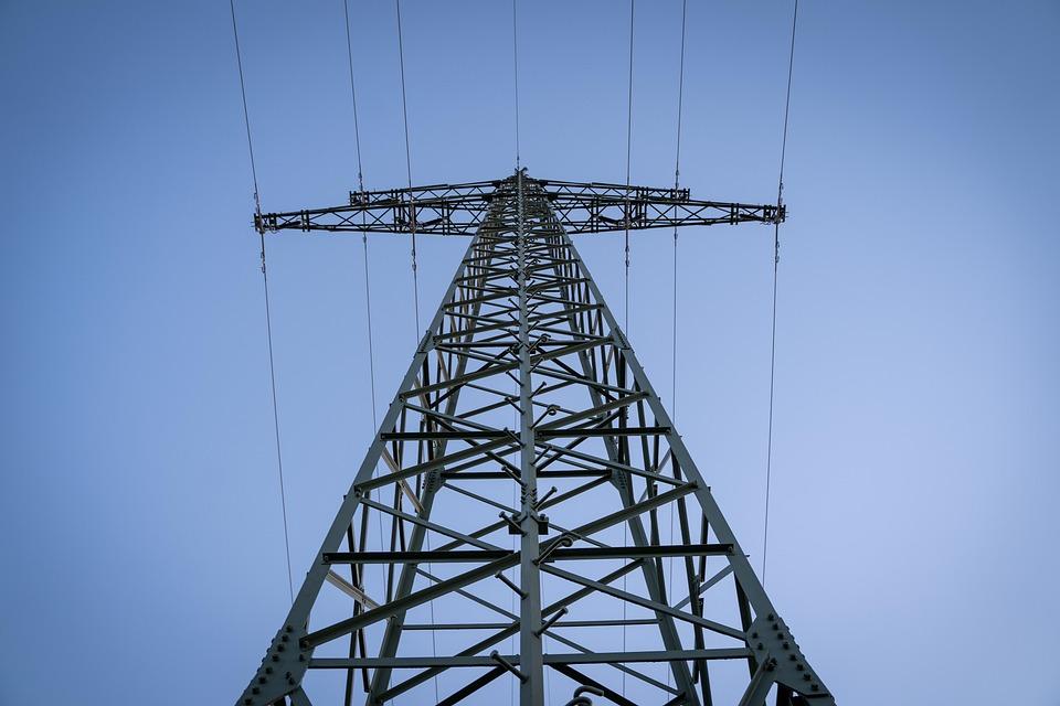 Current, Power Poles, Masts, Metal, Iron, Energy