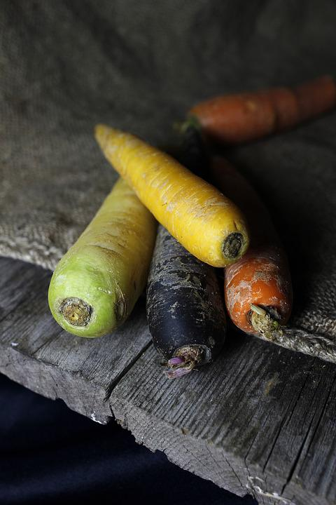 Carrots, Carrot, Vegetables, Grow, Harvest Time, Mat
