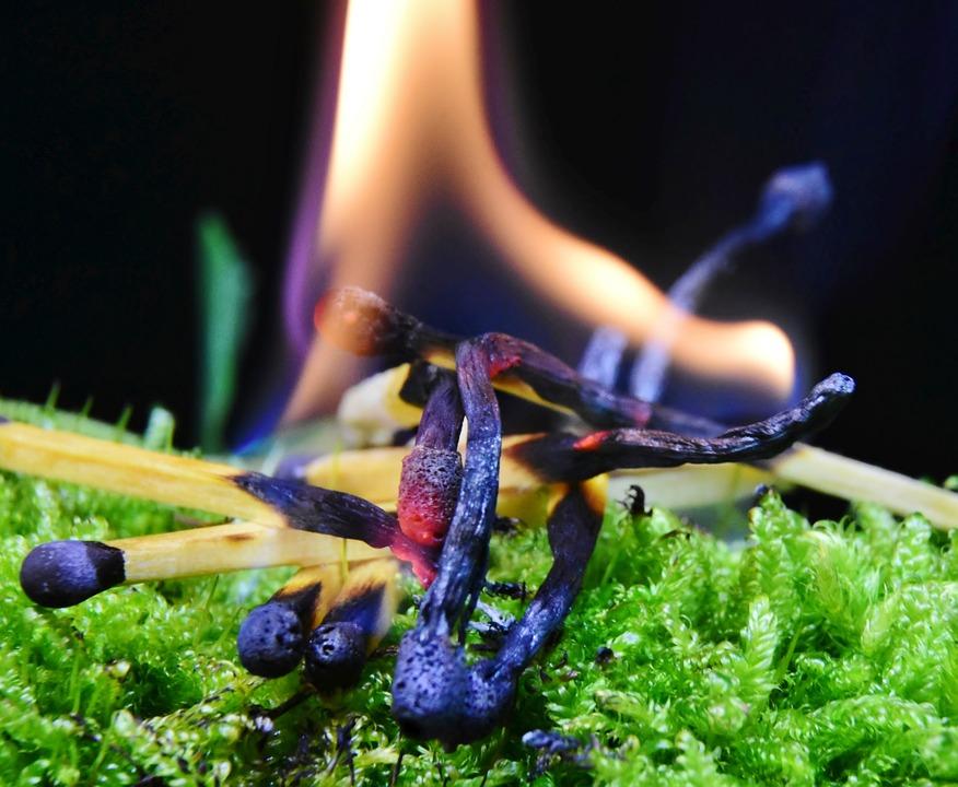 Fire, Flame, Match, Burn, Ignition, Lighter, Match Head