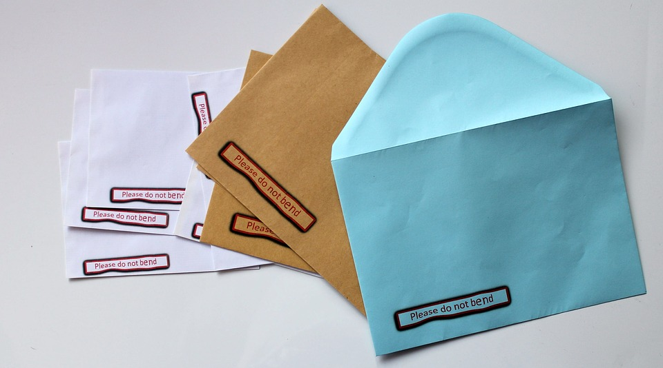 Free Photo Material Mail Business Supplies Envelope Office
