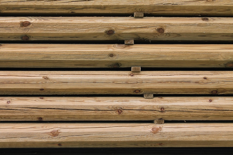 Wood, Stacked, Pile, Stack, Timber, Material, Woodpile