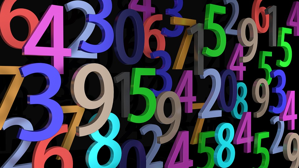 Pay, Numbers, Digits, Mathematics, Count, School, Close